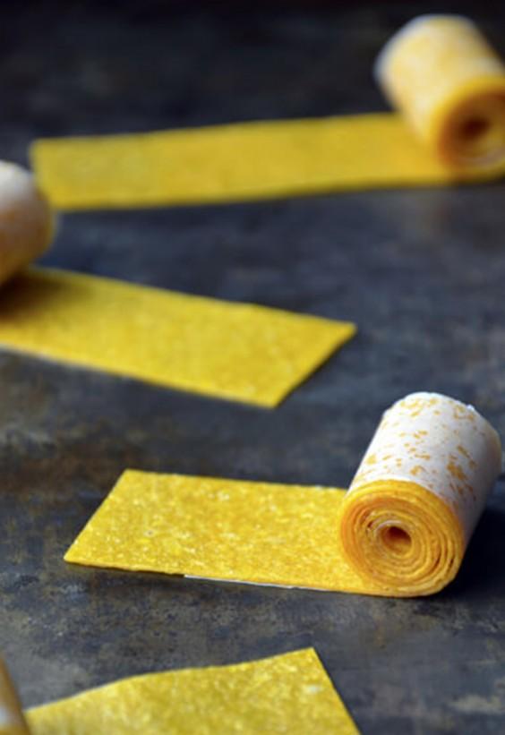 Picnic: Mango Fruit Roll-Ups