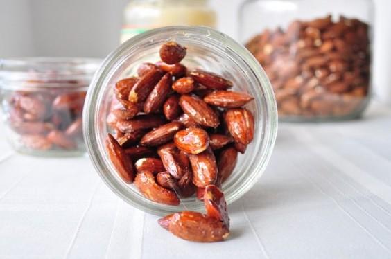 Honey Almonds