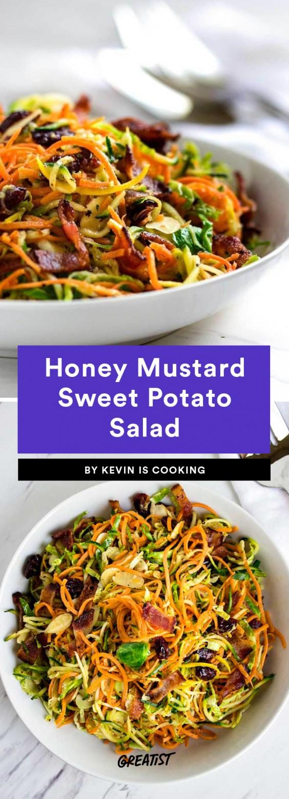 Honey Mustard Sweet Potato Salad