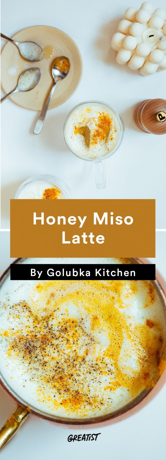 Not PSL: Honey and Miso Latte