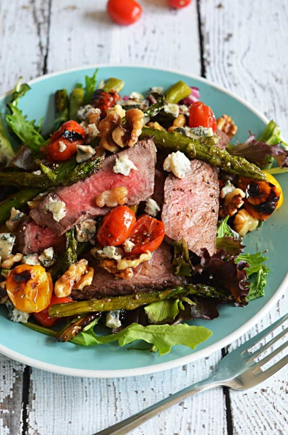 11. Warm Balsamic Steak and Vegetable Medley