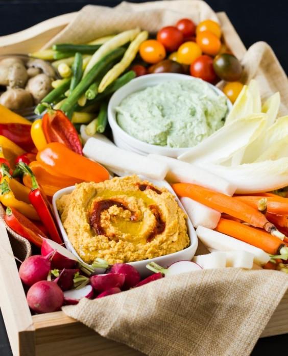 chrismakuh apps: veg tray