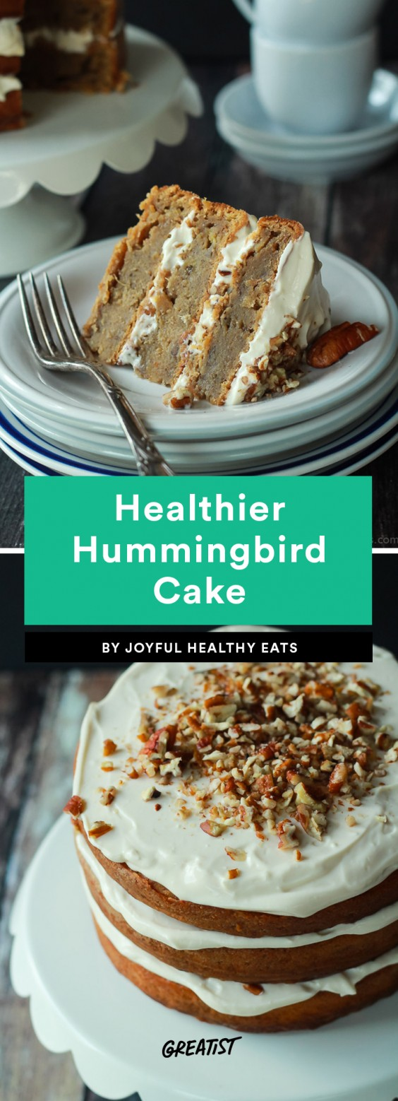 Healthier Hummingbird Cake Recipe