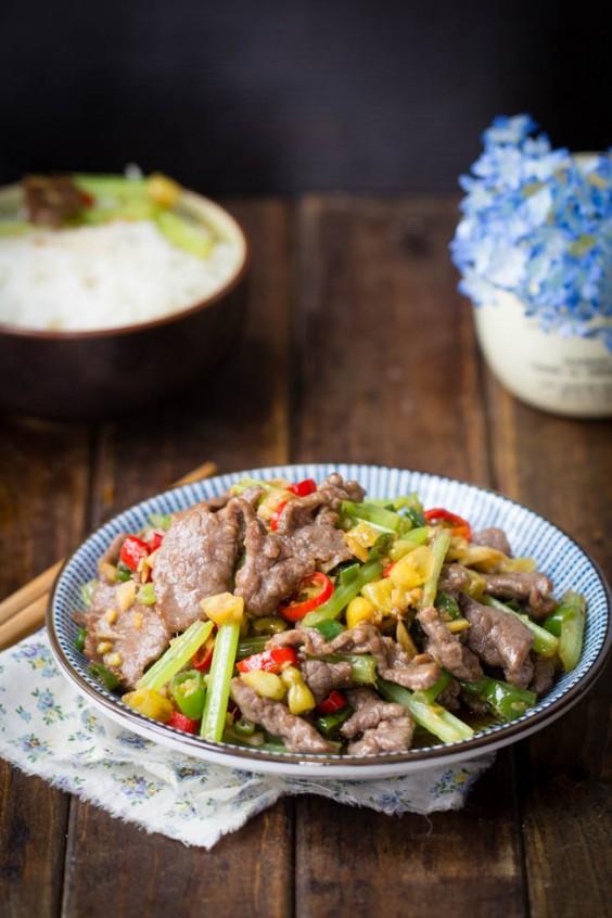 chinese recipes: hunan beef