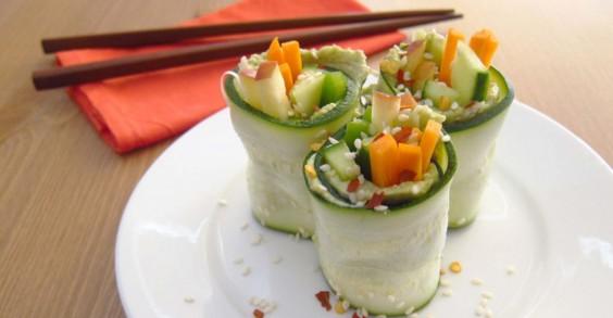 Zucchini Sushi Rolls