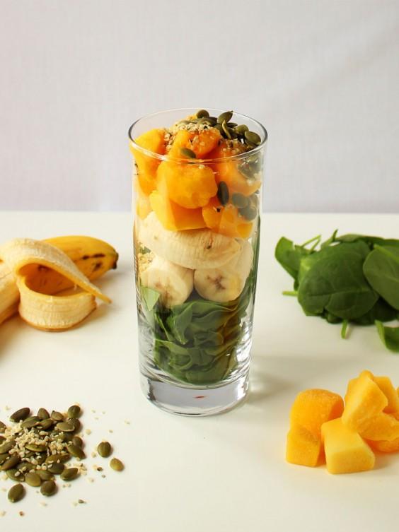 19. Green Protein Power Breakfast Smoothie