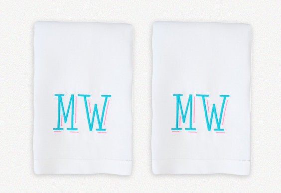 Lettermade Milly Guest Towels