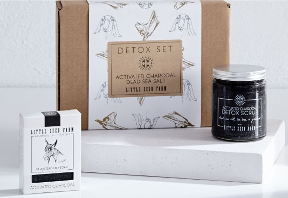 Little Seed Farm Activated Charcoal Set
