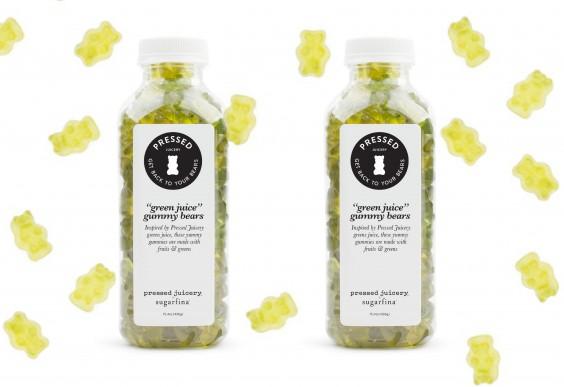 Green Juice Gummy Bears