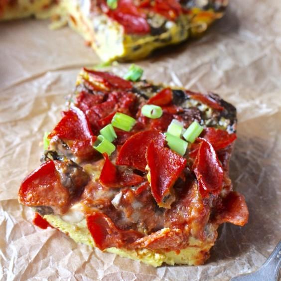Breakfast Pizza Quiche