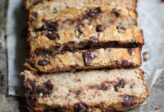 5. Chocolate Chip Coconut Flour Banana Bread