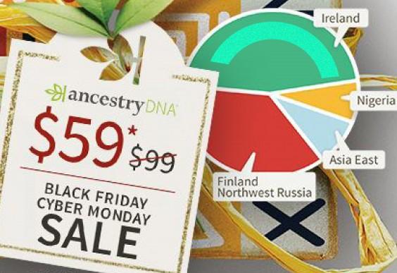 Ancestry DNA Kit Cyber Monday Sale