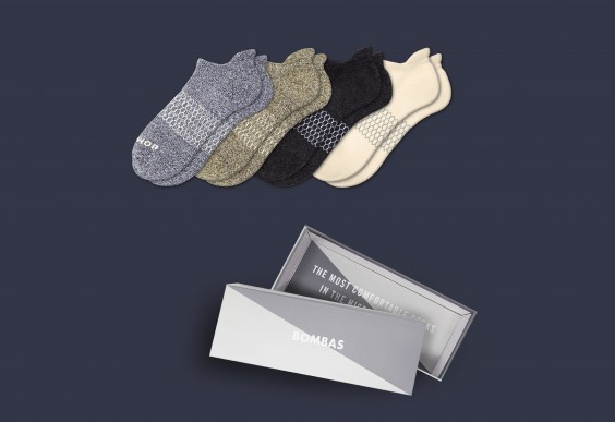 Bombas Men's Ankle Classics Gift Box