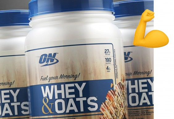 Optimum Nutrition Whey and Oats