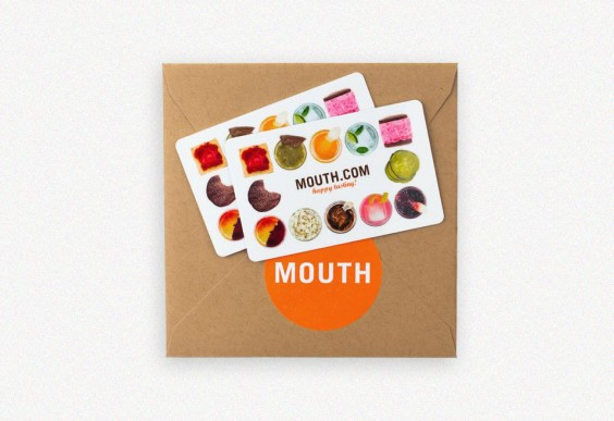 Mouth Gift Card