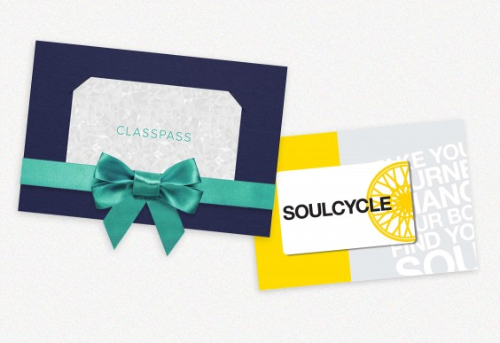 SoulCycle and ClassPass Gift Cards
