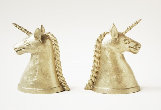 Indego Africa Unicorn Bookends