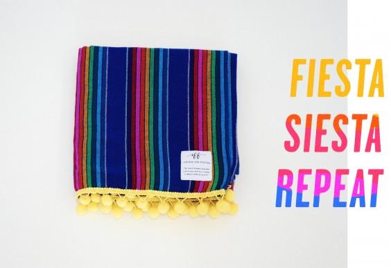 Siestas for Fiestas Blanket