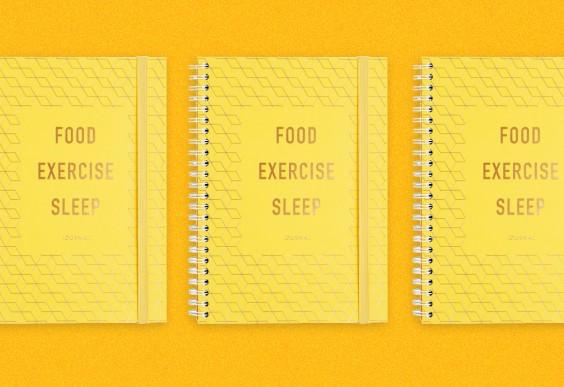 Kikki K Food Exercise Sleep Journal
