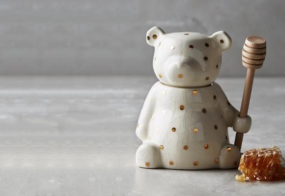 Dottie bear honey pot