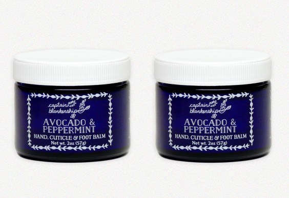 Avocado and peppermint hand and foot balm