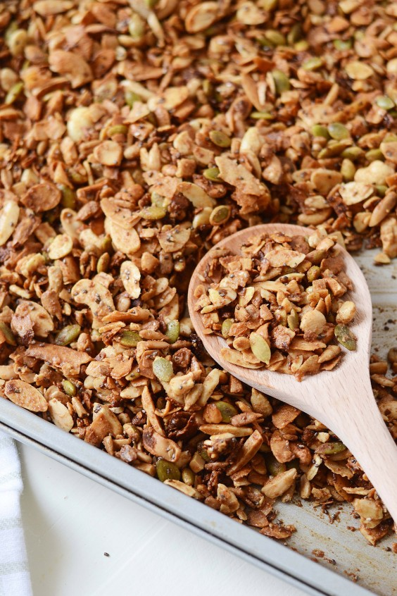 Homemade granola recipes that are actually healthy greatist homemade granola recipes grain free granola ccuart Image collections