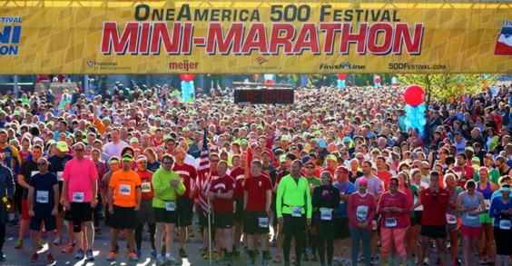50 Best Races: Indiana, OneAmerica 500 Festival Mini-Marathon