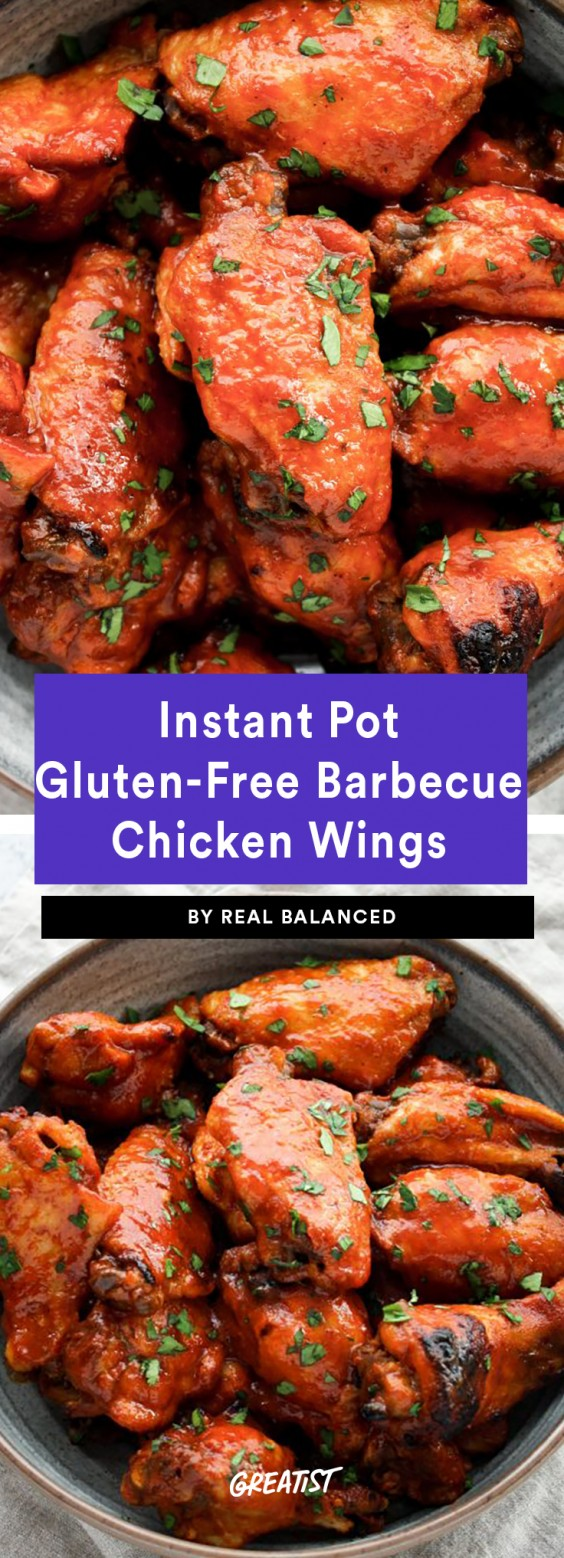 Instant Pot Gluten-Free Barbecue Chicken Wings Recipe