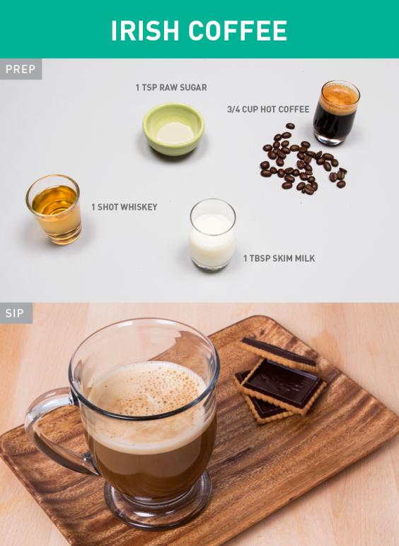 Healthier Irish Coffee