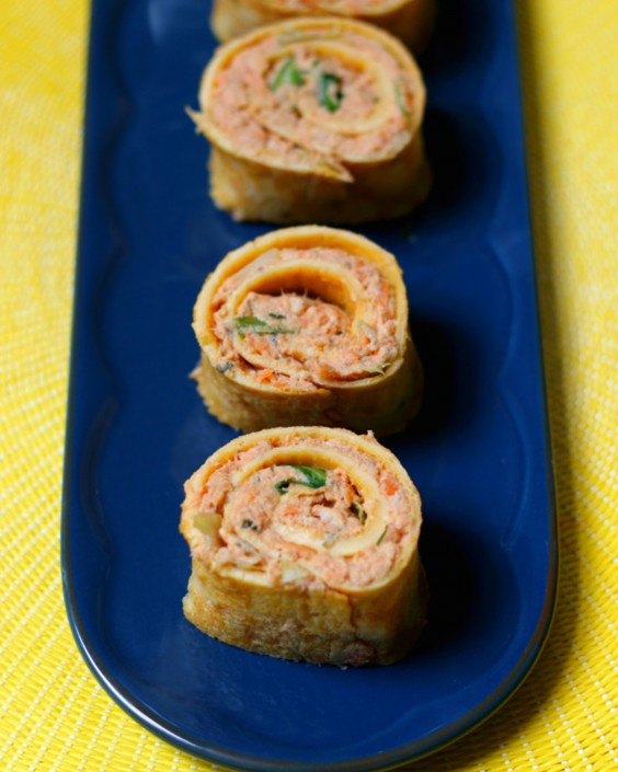 20 Gluten-Free Lunches: Easy Gluten Free Salmon Sushi Roll