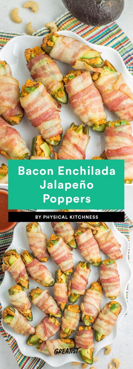 Bacon Enchilada Jalapeño Poppers