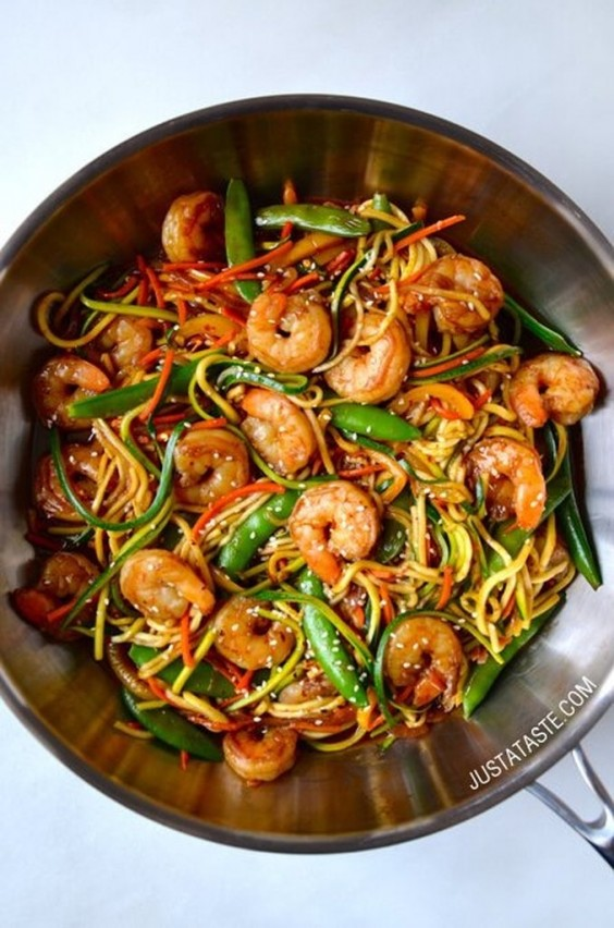 Shrimp: Asian Stir Fry