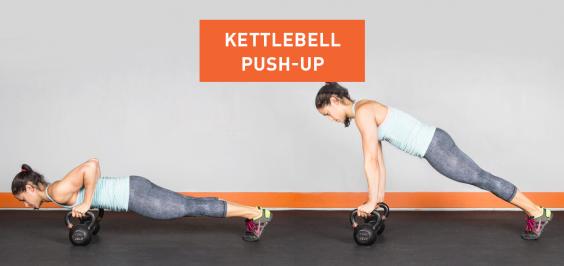 Kettlebell Push-Up