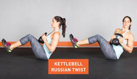 Kettlebell Russian Twist