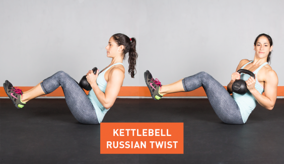 Kettlebell Russian Twist