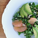 Kale Salad with Grapefruit and Avocado_150sq