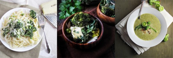 3 Healthy Broccoli Recipes from Katie at the Kitchen Door
