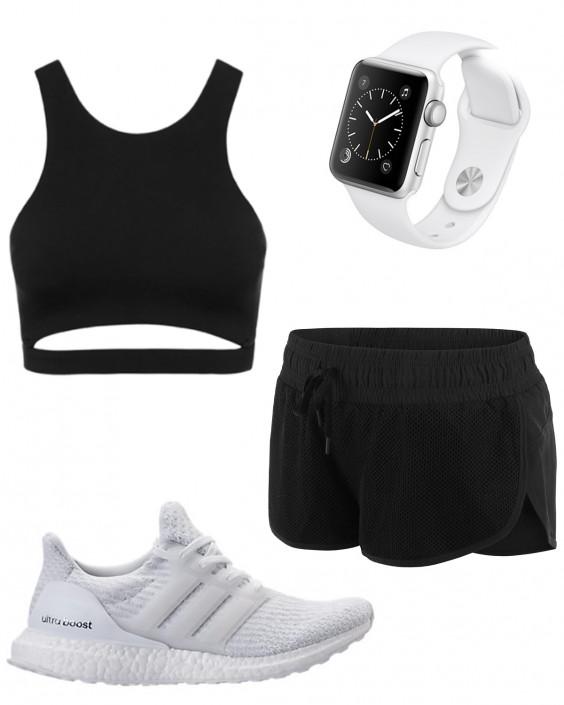 Kayla Itsines Workout Outfit