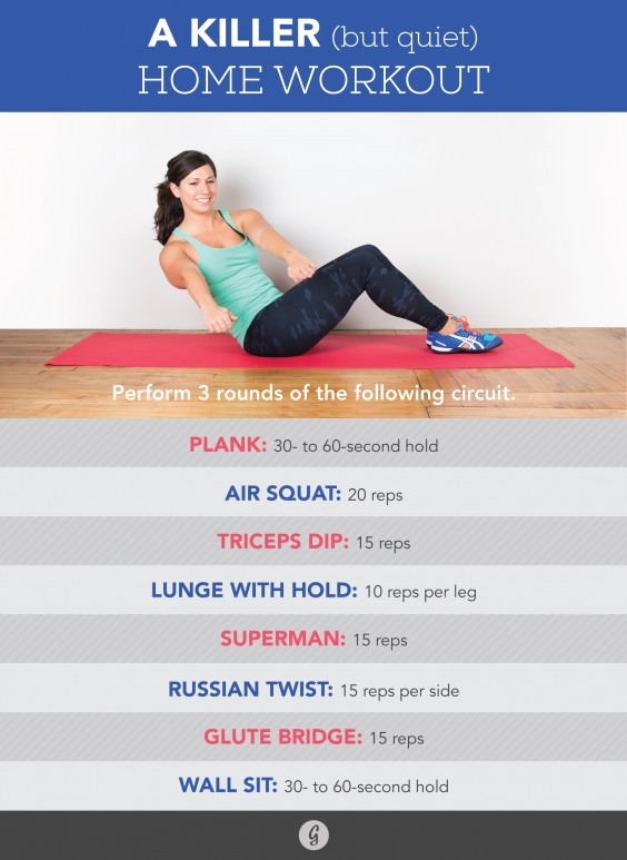 Quiet Home Workout