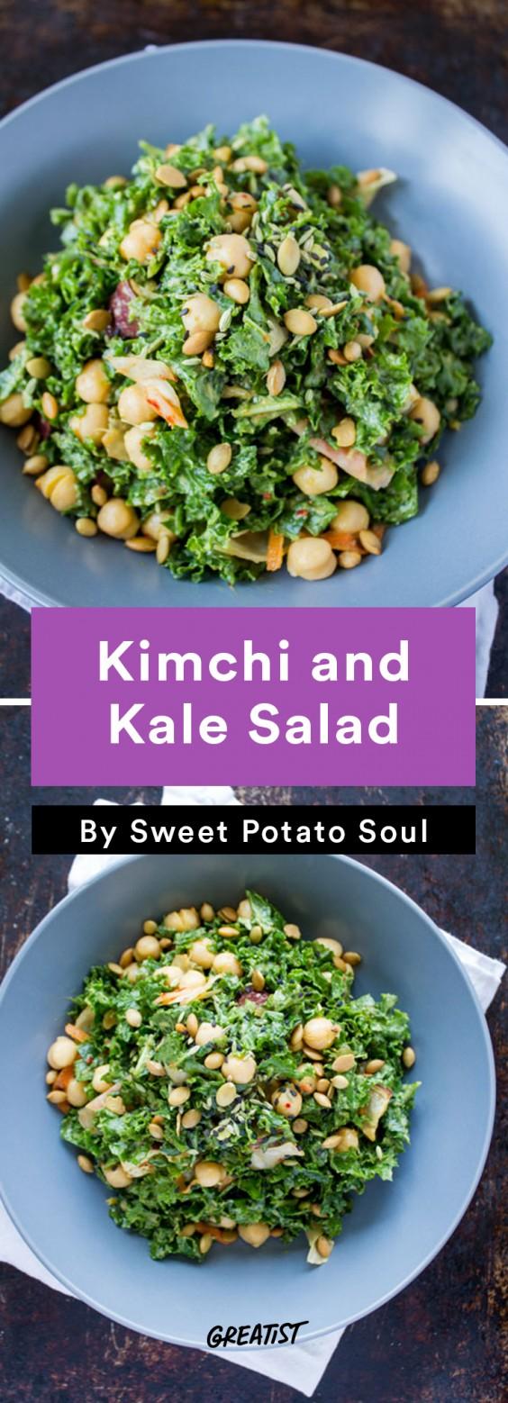 Sweet Potato Soul: kimchi salad