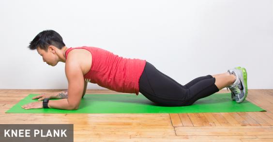 Knee Plank