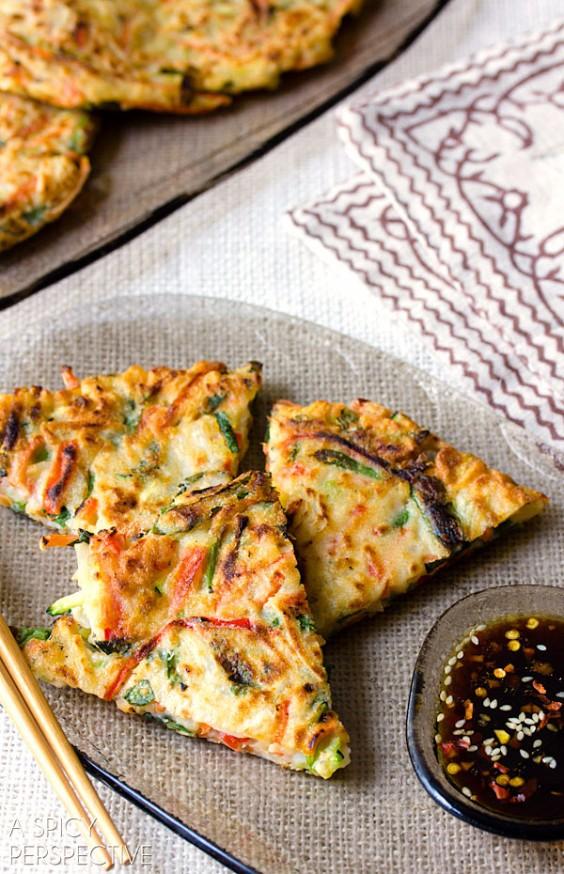 Korean Pancakes: Pajeon