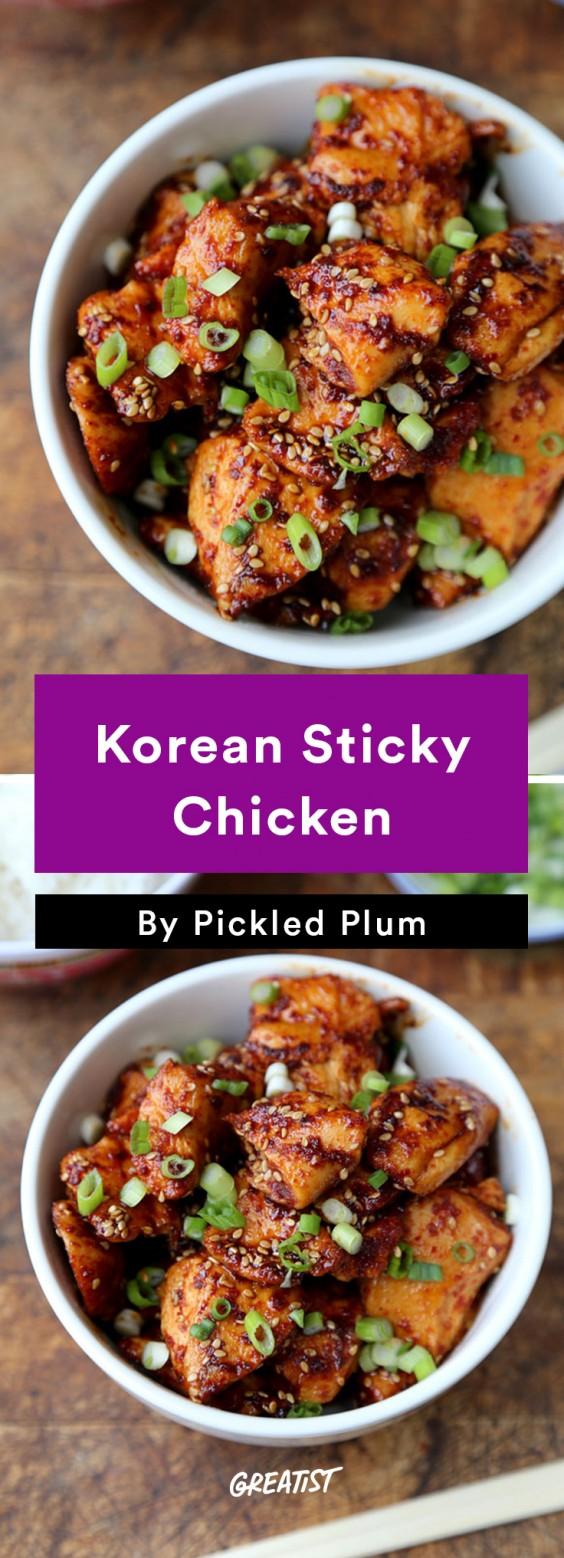 Pickled Plum: Sticky Chicken