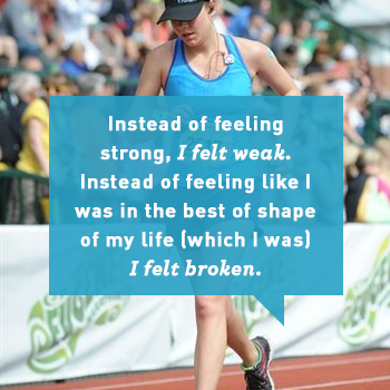 The Downside of Marathon Training