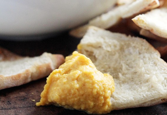 5. Pumpkin Hummus