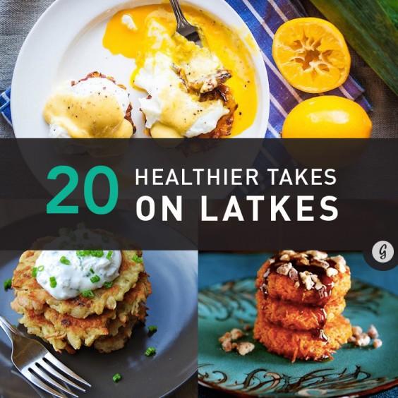 Potato Latkes: 20 Healthier Recipe Twists on Potato Latkes