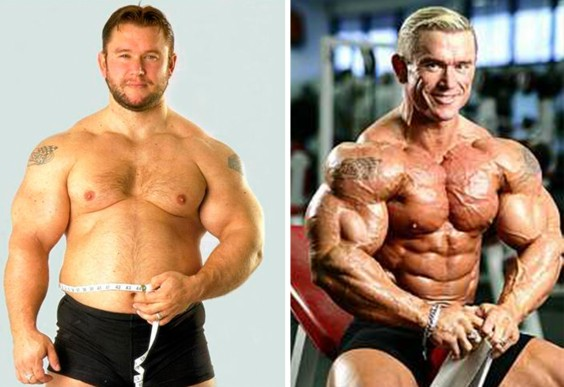 Lee Priest Before/After