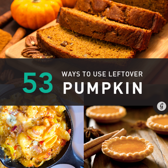 53 Ways to Use Leftover Pumpkin
