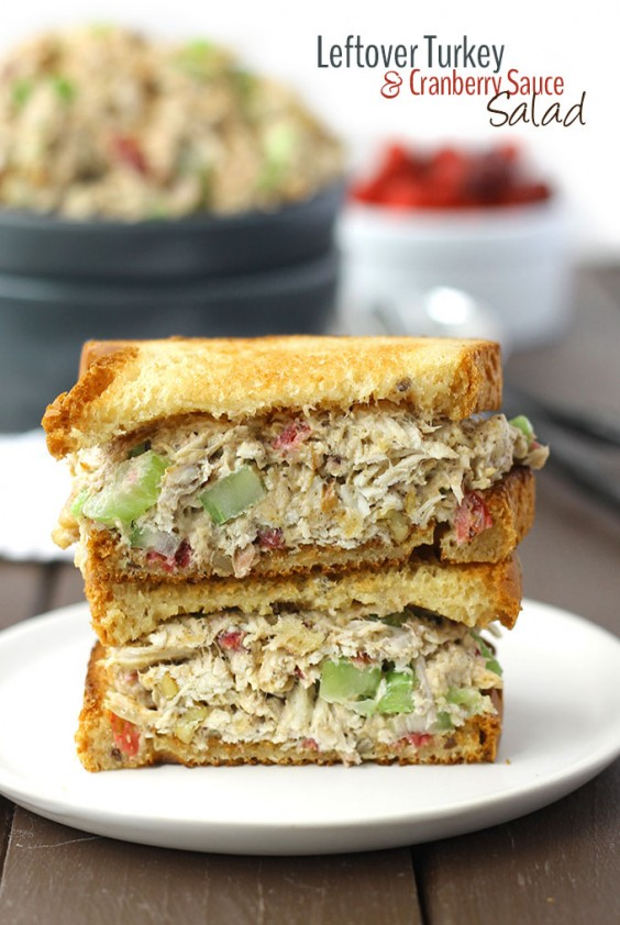 Leftover Turkey Salad Sandwich