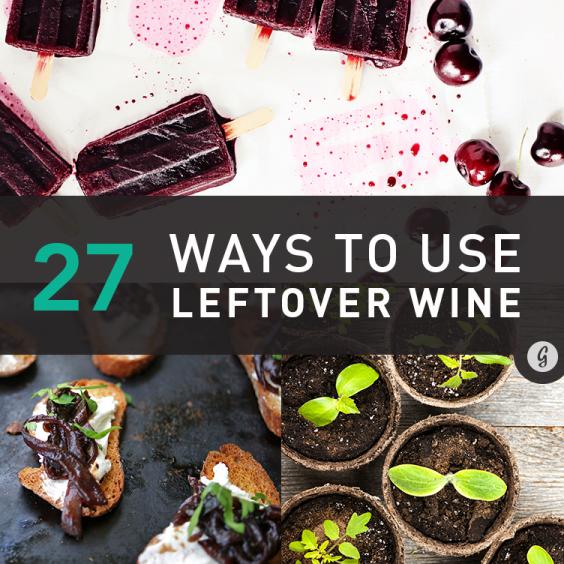 27 Ways to Use Leftover Wine